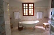 La feuille de pierre : un beau décor pour la salle de bain